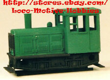 Funaro F&C 602  PLYMOUTH  Diesel YARD Switcher  Standard Gauge HO  1-PIECE Shell