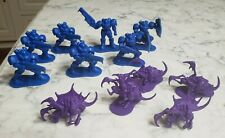 2011 Blizzard StarCraft Minifigure Lot Terrans Zergs 2""