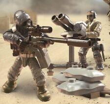 FIIGURES #1 & 4 From Call of Duty COD Mega Construx FPY19 Desert Air Defenders