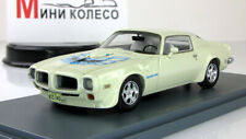 Scale model car 1:43 PONTIAC Firebird Trans AM White 1973