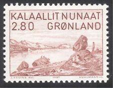 Greenland 1987 P Rosing/Artist/Art/Painting/Fjord/Landscapes/People 1v (n31820)