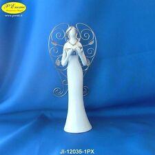 ANGELO IN PORCELLANA CON ASTUCCIO LUSSO IDEALE PER BOMBONIERE 12035-1PX