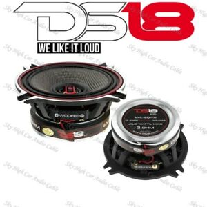 "DS18 EXL SQ4.0 Pair 4"" 2 Way Coaxial Speaker 260 Watts Max Power 2 Speakers"