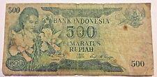 INDONESIA  -  500 RUPIAH 1977  -  P 117  Indonesie.