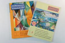 Konvulut Westermann mes cuadernos fascículo 1 & 8 año 1960 revista Arte vintage b6097