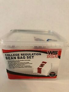 New Stanford Cornhole Bean Bag Set Bag Toss College Regulation Gift University