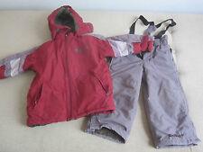 schöner Skianzug Schneeanzug Gr. 98 in rot grau von Scout