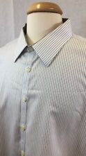 Jhane Barnes Men's Slim Fit Non Iron Long Sleeve  Dress Shirt Sz 19 34/35 P