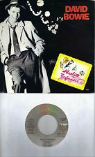 DAVID BOWIE  Absolute Beginners  soundtrack 45 with PicSleeve