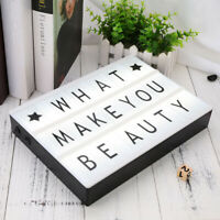 85PCS Letters for Cinema Lightbox Letters For A4 Light Box DIY Colorful Lighting