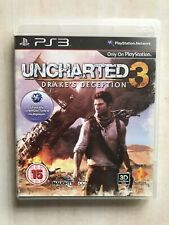 Uncharted 3 Drakes Deception - Sony Playstation 3.