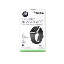 BELKIN INVISIGLASS FOR APPLE WATCH SERIES 3 2 1 SPORT 42MM GLASS *NEW1* F8W715TT
