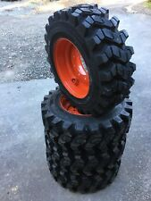 4 Camso SKS753 10-16.5 Skid Steer Tires/wheels/rims for Bobcat & more- 10X16.5