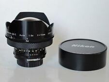 "RARE Nikon Nikkor-QD C 15mm f:5.6 auto lens with caps, US SELLER ""LQQK"""