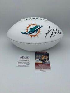 Xavien Howard Signed Miami Dolphins Full Size White Panel Wilson Football JSA