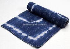 Kantha Quilt Handmade 100 Pure Cotton Filled Jaipuri Warm Queen Size Winter