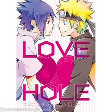 NARUTO yaoi doujinshi Sasuke X Naruto anthology (A5 144pages) Pot8os LOVE HOLE