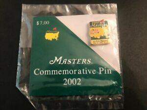 2002 Masters Lapel Pin