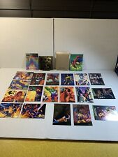 1994 Flair Marvel Universe + '94 Ultra X-Men Spiderman Captain America 20 Cards!
