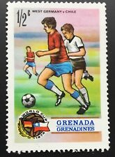 Grenada Grenadines stamps - Germany v Chile 1974 World Cup 1/2 East Carib. cent