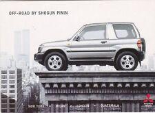 Mitsubishi Shogun Pinin Postcard