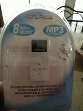 "Craig mp3 player 512mb 8 hours of music ""brand new ""."