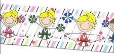 """CHEER LOVE grosgrain ribbon 3/"""" x 3ft or 1 yard Cheerleading Pom Pom Sport Girl"""