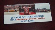 NASCAR Budweiser Cleveland Grand Prix  1985