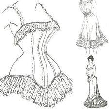 "16"" & 18"" sizes  Fashion Antique DOLL sewing PATTERN Lingerie corset underwear"