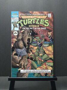 Teenage Mutant Ninja Turtles Adventures Movie II Secret of the Ooze Archie Comic
