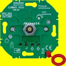 UNTERPUTZ LED-DIMMER DREH/EINBAU/UP max.15-150 W/LEDs 3-50 Watt 4600x0300/T46.03