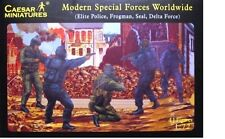 Modern Special Forces SEAL,DElLTA, Frogmen- Caesar Miniatures - H061- 1/72 Scale