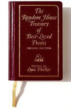 Random House Treasury of Best-Loved Poems by Louis Phillips 1995, Hardcover NEW