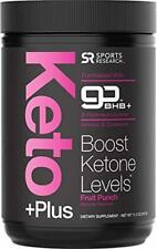 Keto Plus™ Exogenous Ketones (goBHB™) - 30 Servings | Formulated for Ketosis