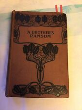 A Brothers Ransom , Alice Lang , Hardback, Antique