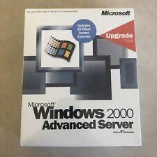 Microsoft WIndows 2000 Advanced Server Upgrade w/ 25 Licenses