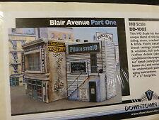 """Downtown Deco HO #1005 Blair Avenue Part One -- Kit - 4 x 6"""" 10.2 x 15.2cm"""
