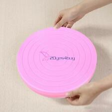 Rotating Revolving Cake Plate Decorating Turntable Kitchen Display Stand Small