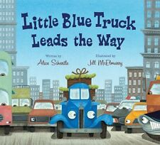 Little Blue Truck Leads the Way board book by Alice Schertle