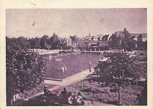Ansichtskarte Krnov Jägerndorf Schwimmbad  (Nr.808)