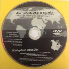 GMC GM Satellite Navigation GPS System Maps CD Map Disc 25850927U Ver 3.00 OEM
