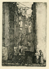 Donald Shaw MacLaughlan original etching