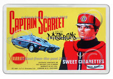 CAPTAIN SCARLET BARRATT SWEET CIGARETTES BOX ARTWORK JUMBO FRIDGE LOCKER MAGNET