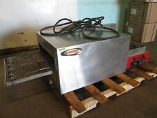"""""""Q-MATIC"""" COMMERCIAL H.D. 1Ph ELECTRIC CONVEYOR PIZZA OVEN w/DIGITAL CONTROLS"""