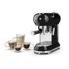 Smeg - Macchina da caffè espresso in polvere Nero ECF01BLEU - Rivenditore