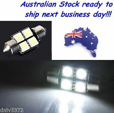 ULTRA White LED Dome Light Bulb suit Mitsubishi Magna TE TF TH TJ Sedan & Wagon