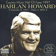 HARLAN HOWARD - COUNTRY MUSIC HALL OF FAME 1997 * NEW CD