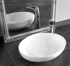 REA lavabo ceramica ovale piccolo -CAROLA SLIM lavandino da appoggio