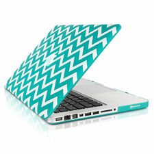"UNIK CASE-Chevron Matte Hard Case for Macbook Pro 13"" with DVD Drive-Hot Blue"