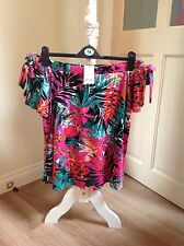 womens off the shoulder top size 14